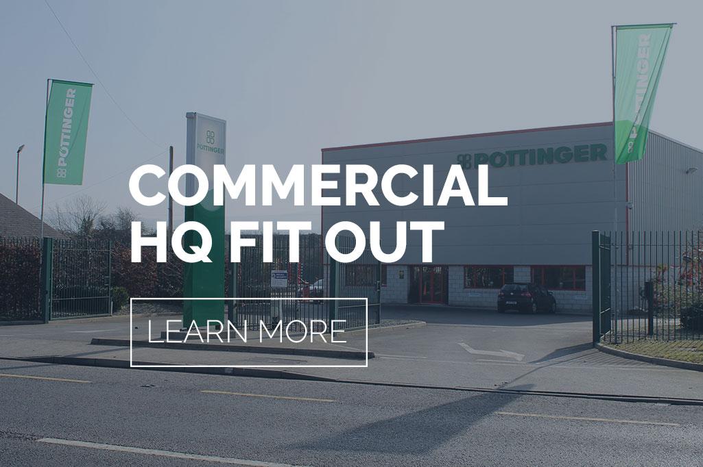 Commercial Services - Pottinger Commercial HQ Fit Out - Commercial Architecture